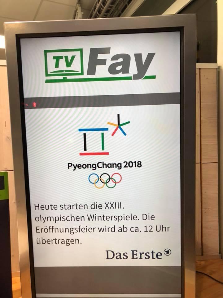 OlympiaPyeongchangInfoscreenTVFay