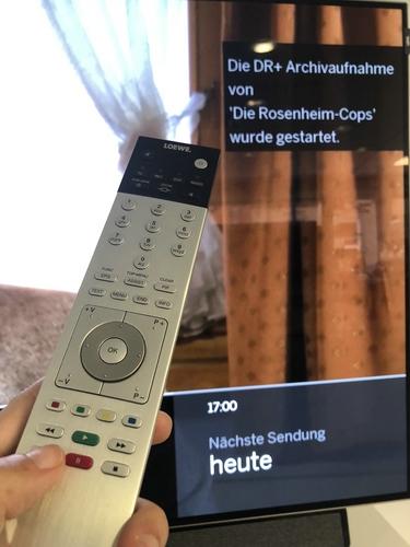 Loewe-Sat-Aufnahme