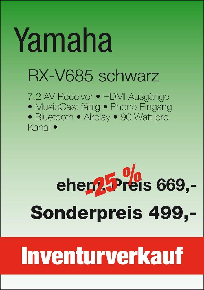 Inventurverkauf_YamahaRX-V685